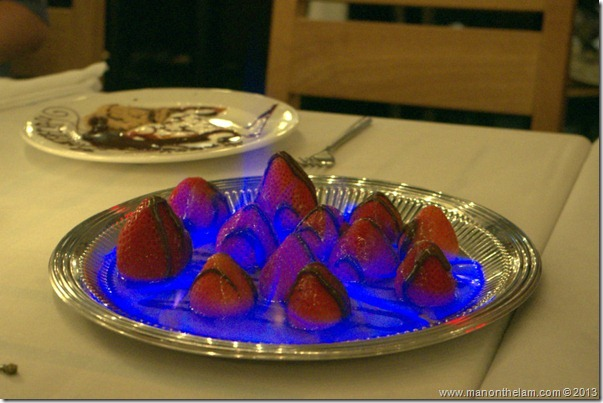 Strawberries Panzini, Nick's Fishmarket, Maui