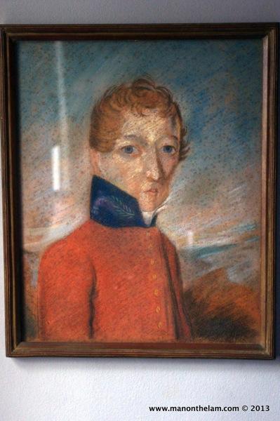 Dr. John Barry portrait, Alphen Hotel, Cape Town, South Africa