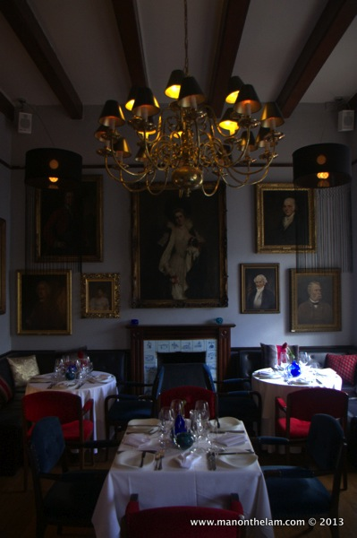 dining room -- Alphen Cape Hotel