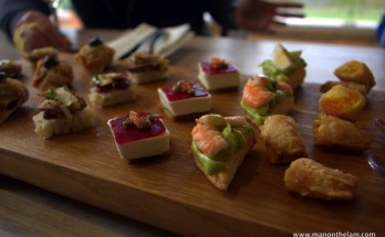 The Grape Escape -- Canapés and Chardonnays @CreationWines