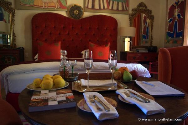 opulent swanky hotel room, best hotel in the world, La Residence Hotel  Villas Franschoek South Africa