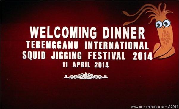Terengganu International Squid Jigging Festival Welcome Dinner