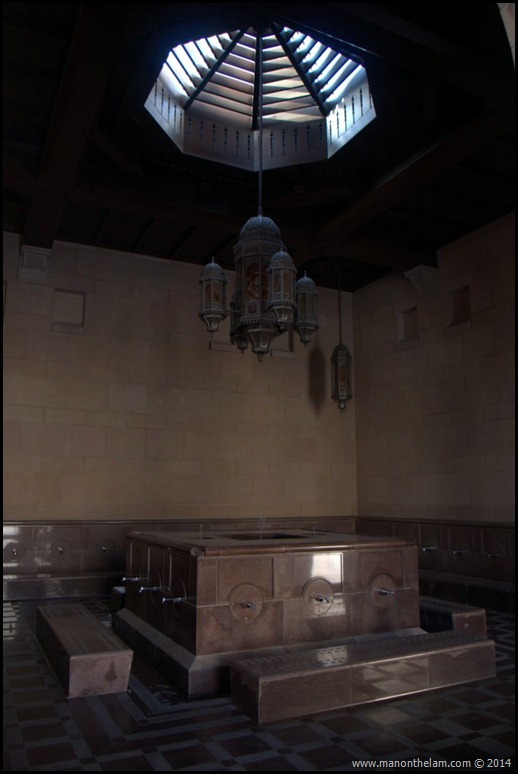 Ablution room, Sultan Qaboos Grand Mosque, Muscat Oman