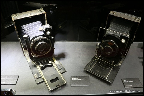 Penang Camera Museum, George Town -- vintage cameras