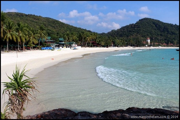 Laguna Redang Island Resort, Terengganu, Malaysia beach view