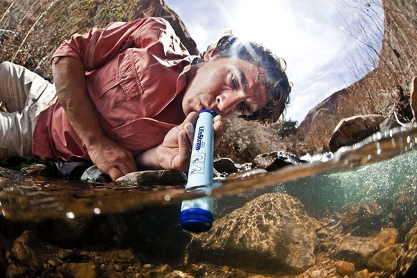 LIfestraw Personal Water Filter Christmas stocking stuffer gift ideas for men
