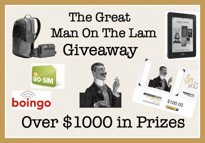 he Great Man On The Lam Giveaway