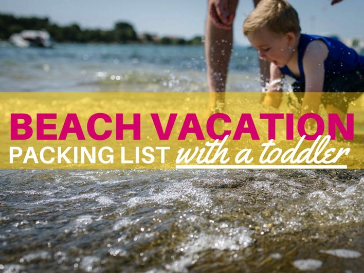 Man On The Lam Top 100 Travel Blog Posts of 2015 so far by social media shares  Beach Vacation Packing List With a Toddler