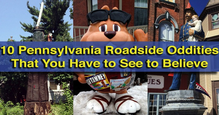 Man On The Lam Top 100 Travel Blog Posts of 2015 so far by social media shares  Pennsylvania roadside oddities