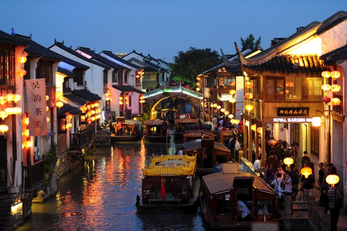 Shantang Street  Suzhou  The Venice of China and the City of Scholars