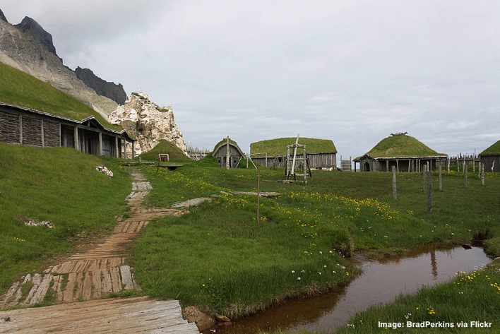 Viking Village Movie Set Iceland