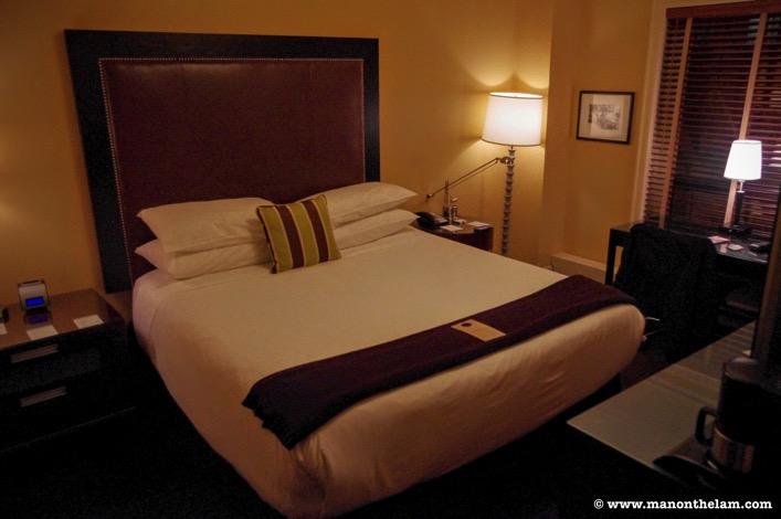 Generic hotel room