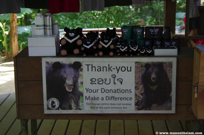 Free the Bears Laos Rescue Centre donations make a difference