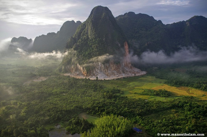 Hot Air Balloon Ride Vang Vieng Laos