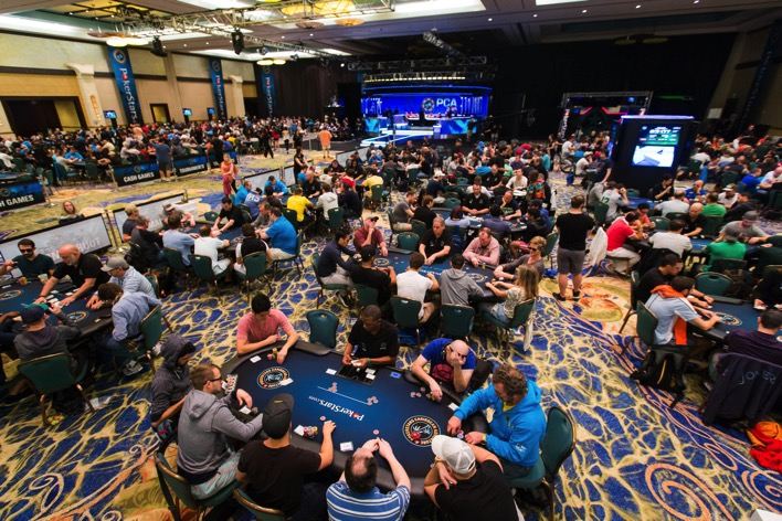 PCA2015 Tournament Room Neil Stoddart