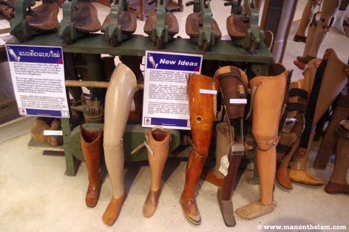 COPE Visitor Centre Vientiane Laos how to buy an artificial leg