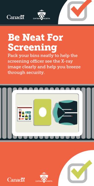 Be Neat for Screening CATSA