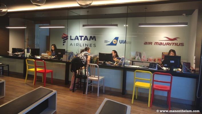 Latam Airlines Air Mauritius UIA Air offices