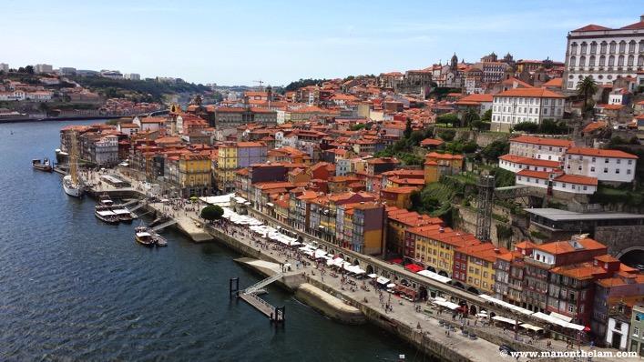Porto Portugal aeriel view