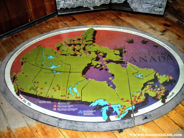 Parks Canada Map
