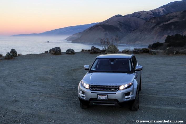 Range Rover SUV California Road Trip Planner