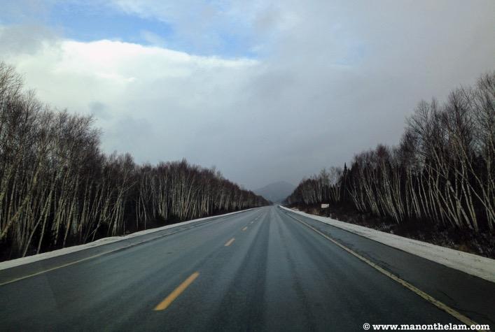 Winter road trip checklist planning michigan