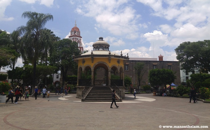 Rotunda Guadalajara Mexico centro