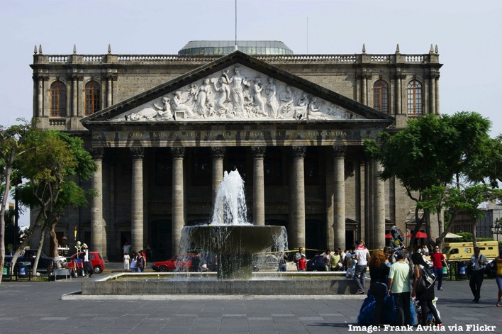 Teatro Degollado Guadalajara Mexico things to do and see