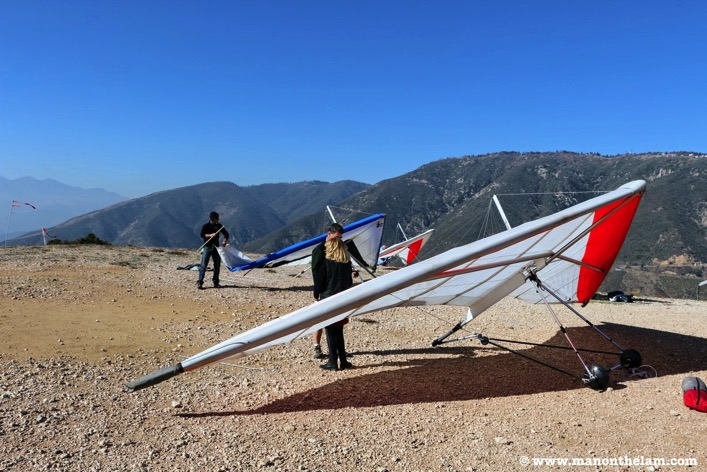 Hang Gliding Santa Barbara San Bernadino California