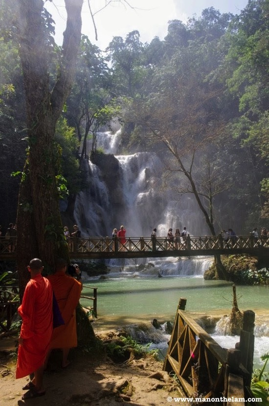 KuangSi Waterfalls Luang Prabang things to do Laos