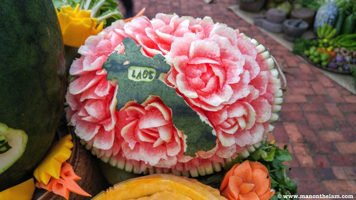 Laos Watermelon decoration