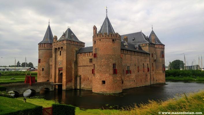 Muiderslot castle Muiden Netherlands