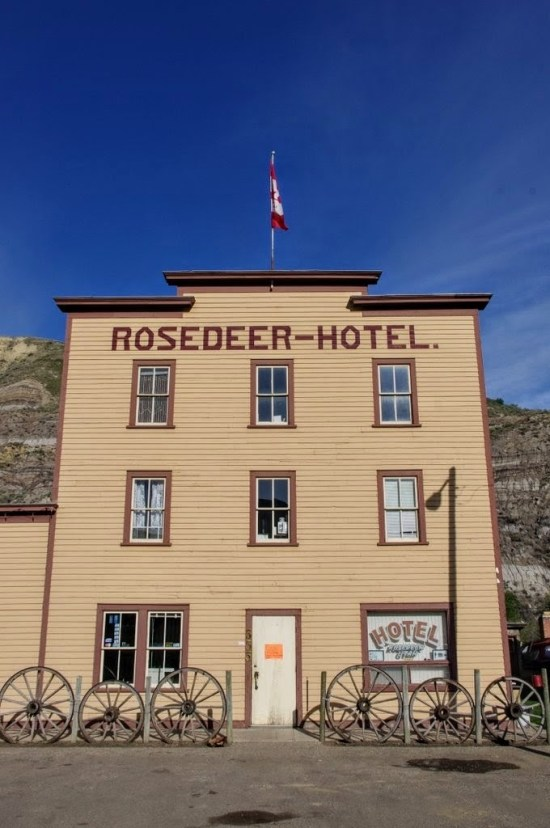 Rosedeer Hotel Wayne Alberta day trips from Calgary
