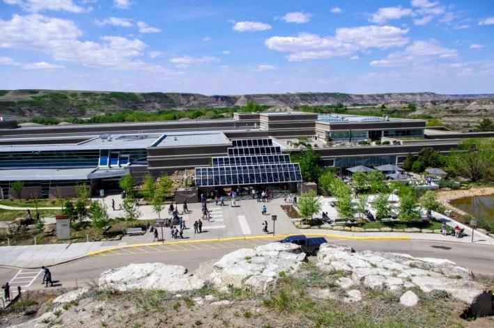 Royal Tyrell Museum Dinosaur Drumheller Alberta Canada day trips from Calgary 044