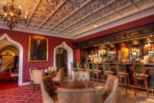 The Derby Bar at Cabra Castle Hotel