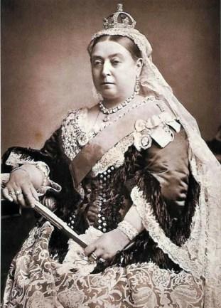 A portrait of Queen Victoria, Inverlochy Castle's perhaps most famous guest