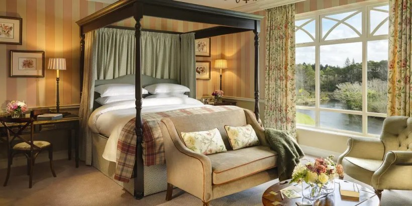 Room at Ballynahinch Castle Hotel