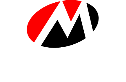 Red and black Manor logo