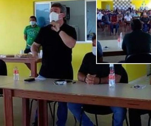 Irresponsável: Em meio à pandemia, prefeito de Lábrea promove aglomeração com fins eleitoreiros