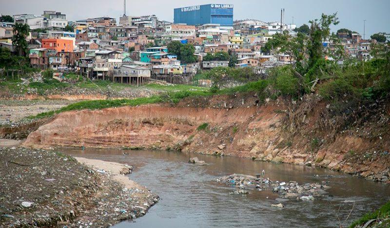 David quer despoluir igarapés de Manaus
