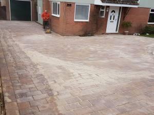 Block paving driveway Bradwell-on-Sea6