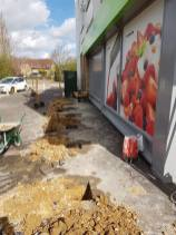 Putting in bollards at havengore Chelmsford4