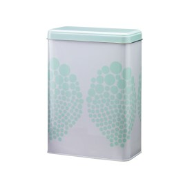 Mint Dots can in Danish Design. 14,6x7,6x20,3 Euro 7