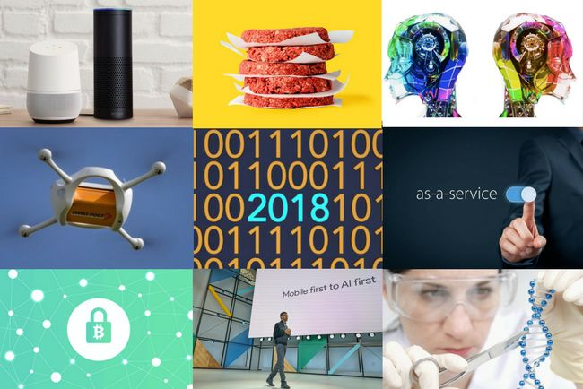 18 Disruptive Technology Trends For 2018