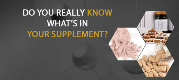 Food Supplement – Steps in the Manufacturing Process (USADA)