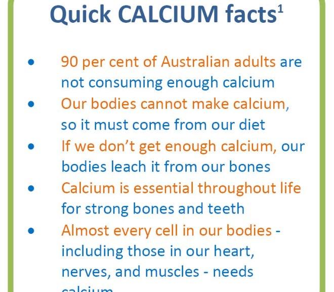 Calcium – Fact Sheet for Health Professionals