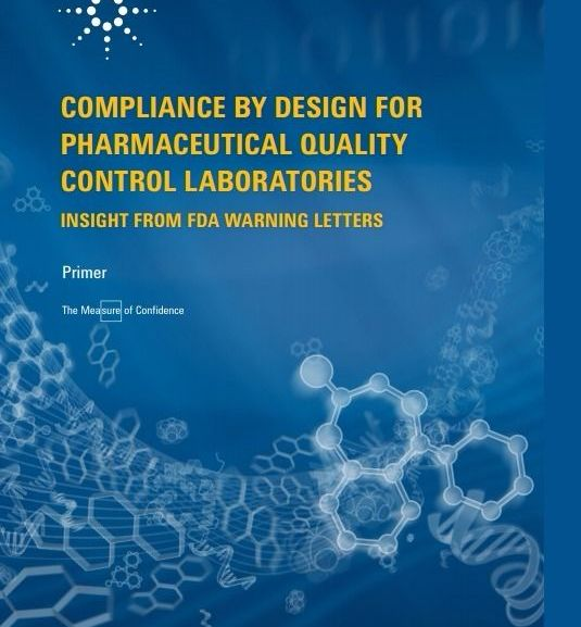 COMPLIANCE BY DESIGN FOR PHARMACEUTICAL QUALITY CONTROL LABORATORIES  – PDF Download
