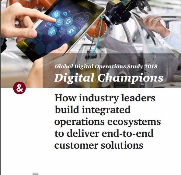 Global Digital Operations 2018 Survey – Industry 4.0 – PDF Download