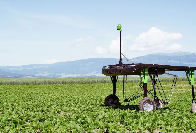 Solar Weed-Killing Robots May Upend Herbicide Industry