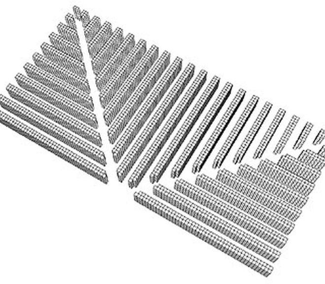 Fishbone Design Warehouse Aisles